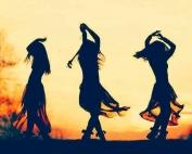 mujer danza